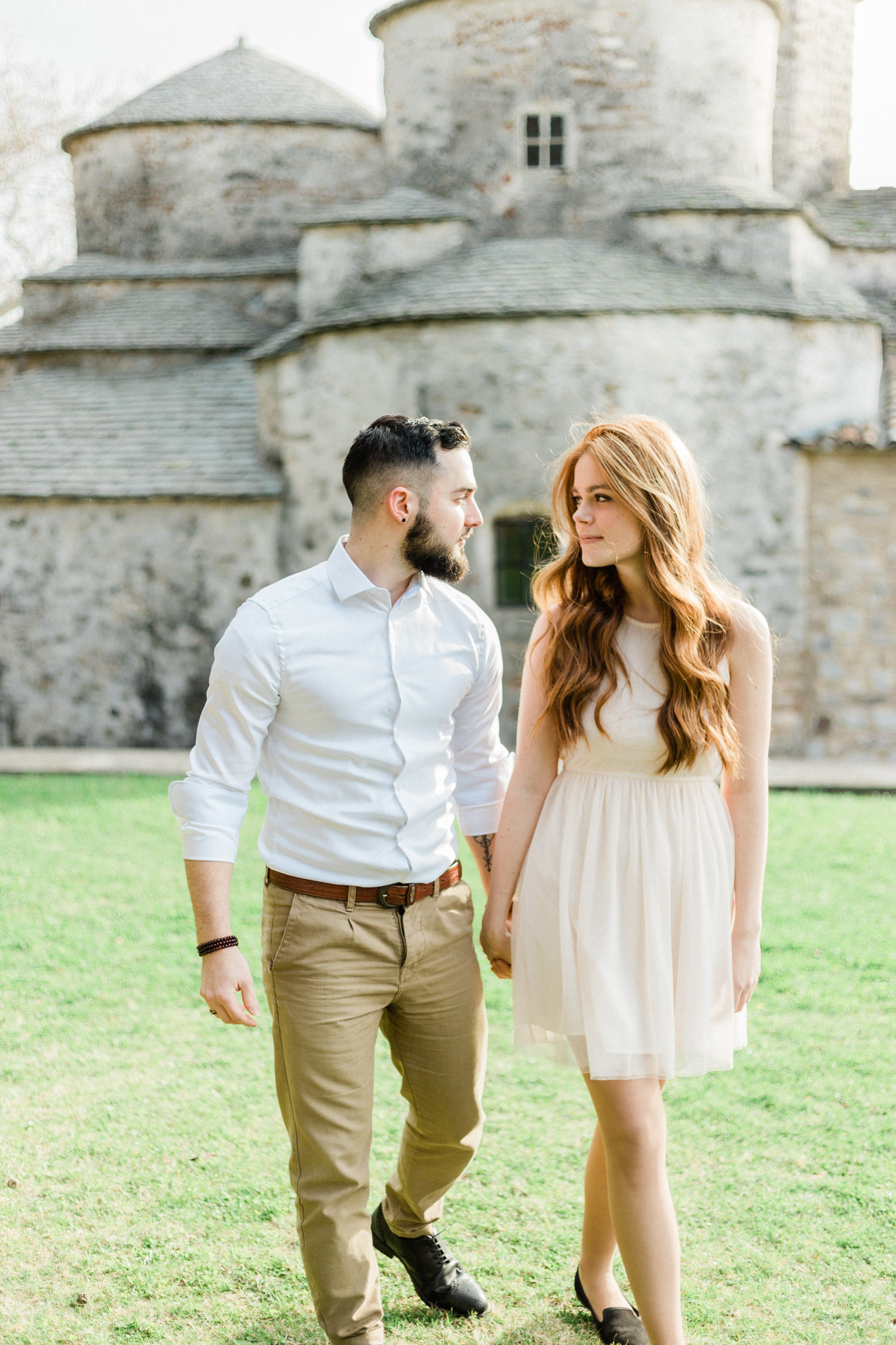 engagement session walk