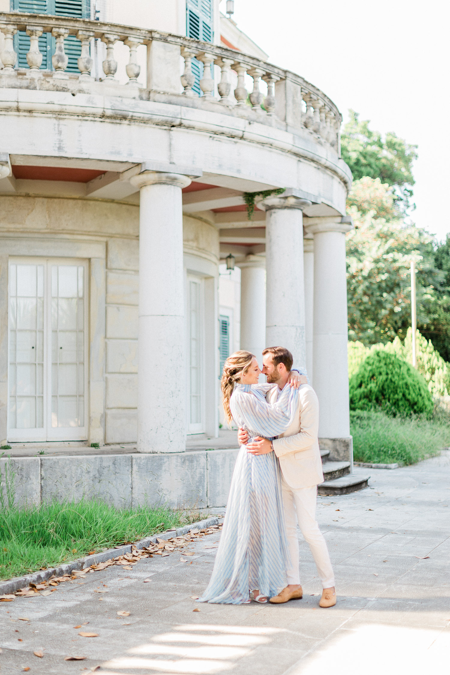 fine art pre wedding shooting at Corfu island