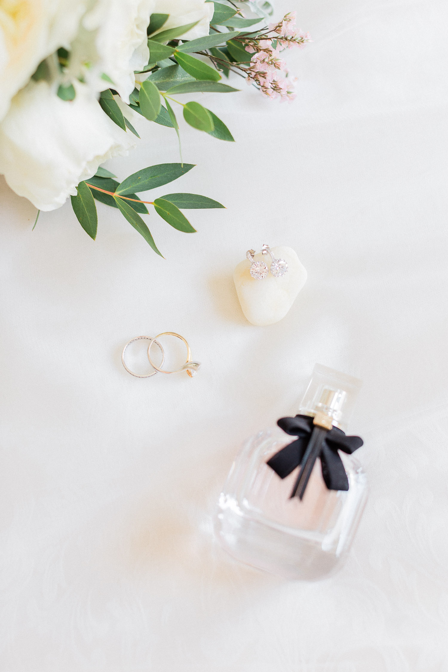 luxury bridal styling details