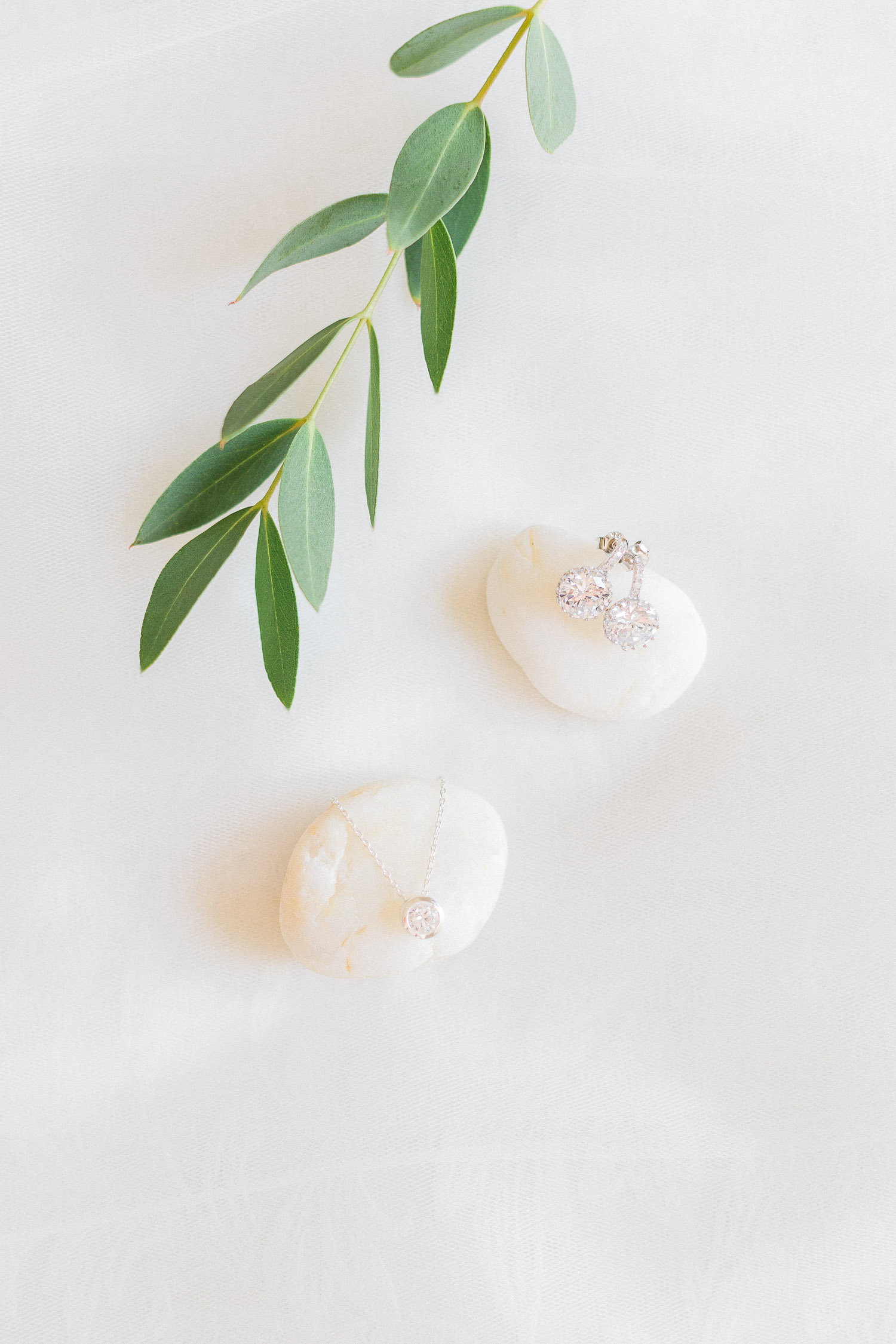 diamond bridal styling details