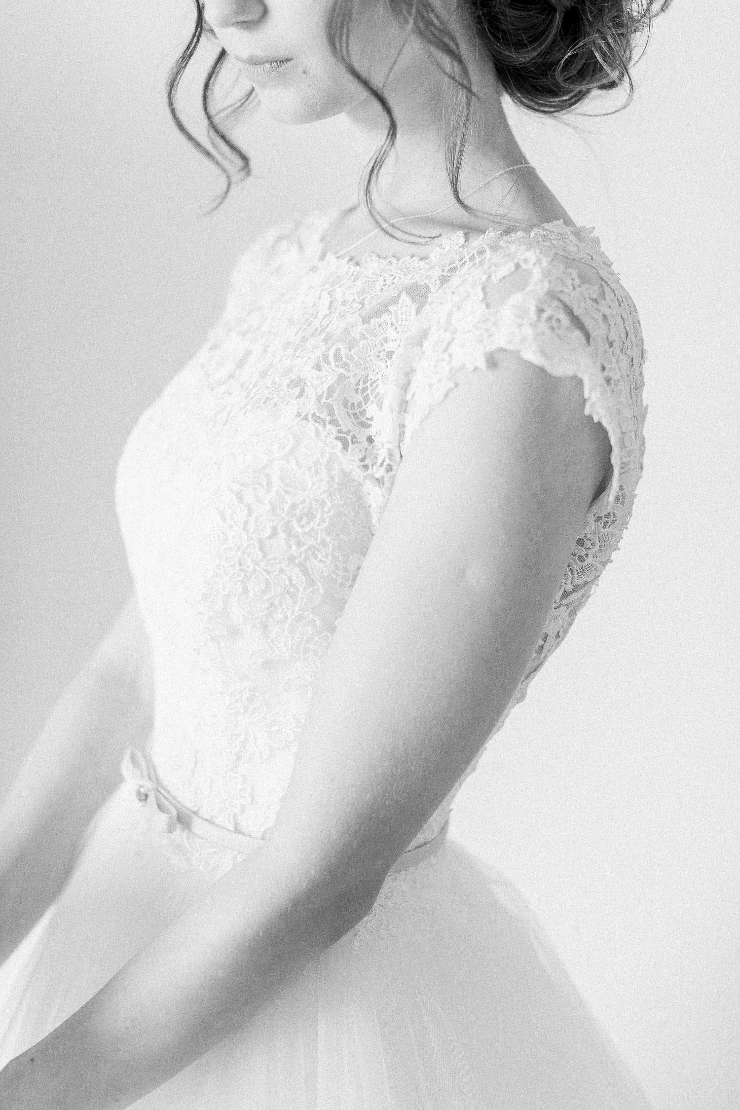 wedding dress detail shoot
