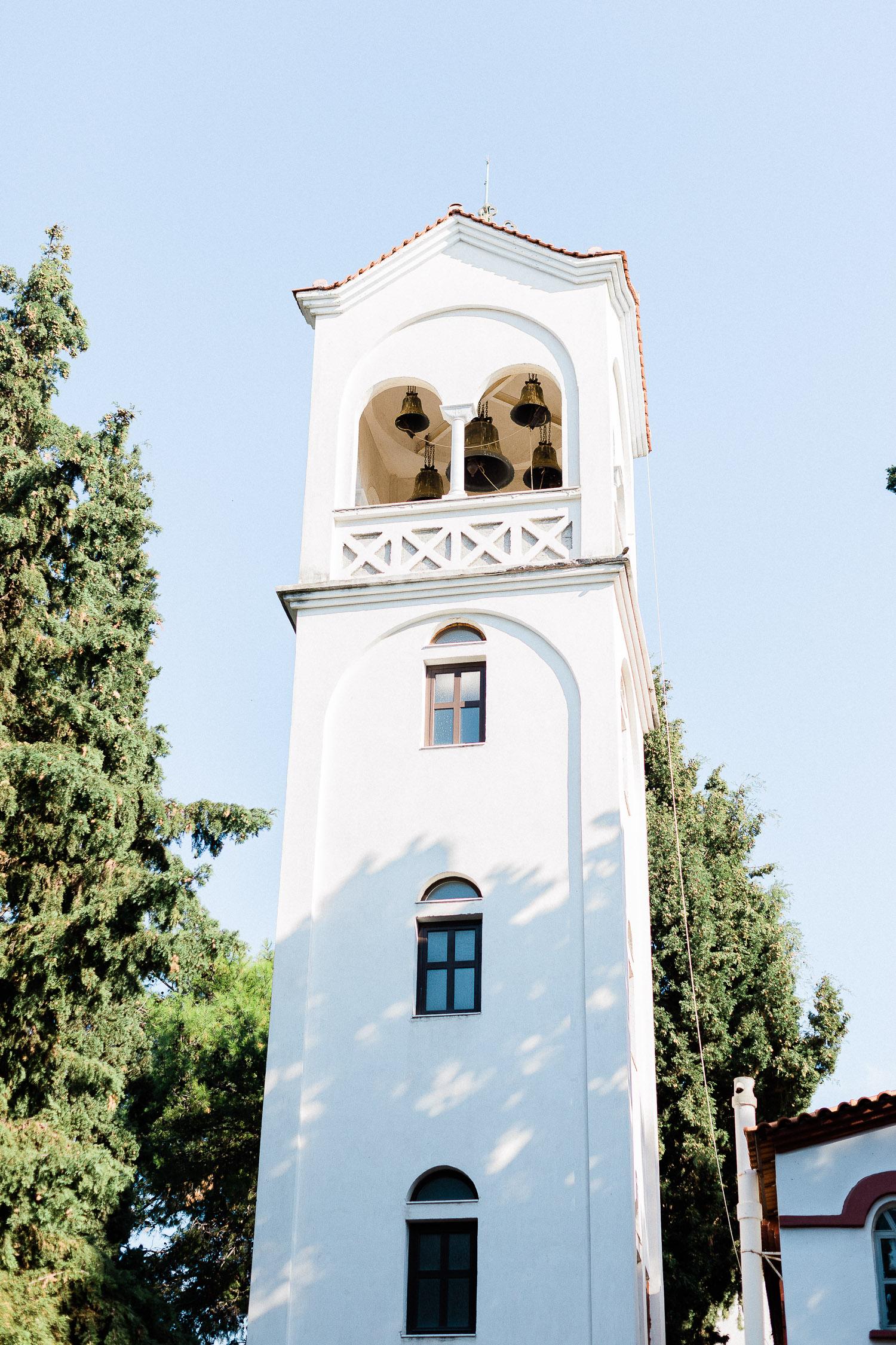 orthodox church on a Wedding in Halkidiki