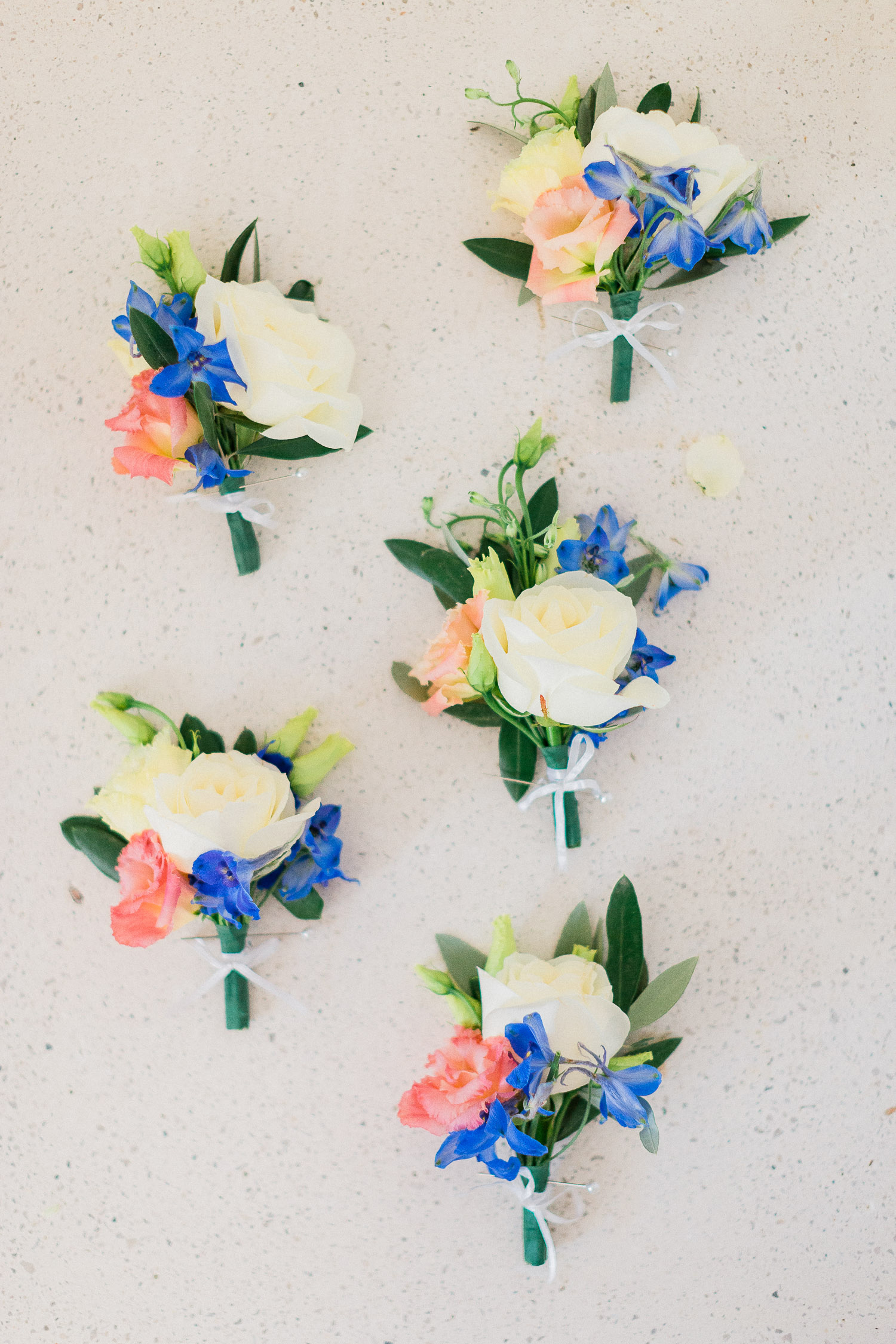 boutonniere on a Traditional corfu estate wedding