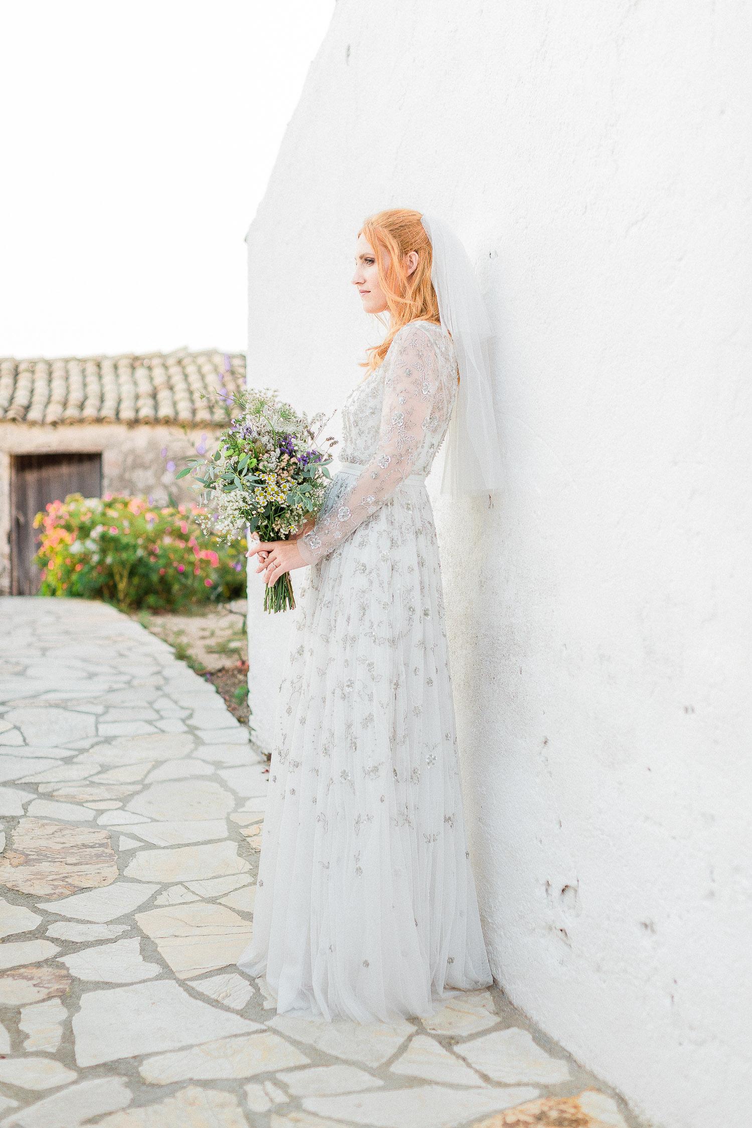 Corfu organic wedding