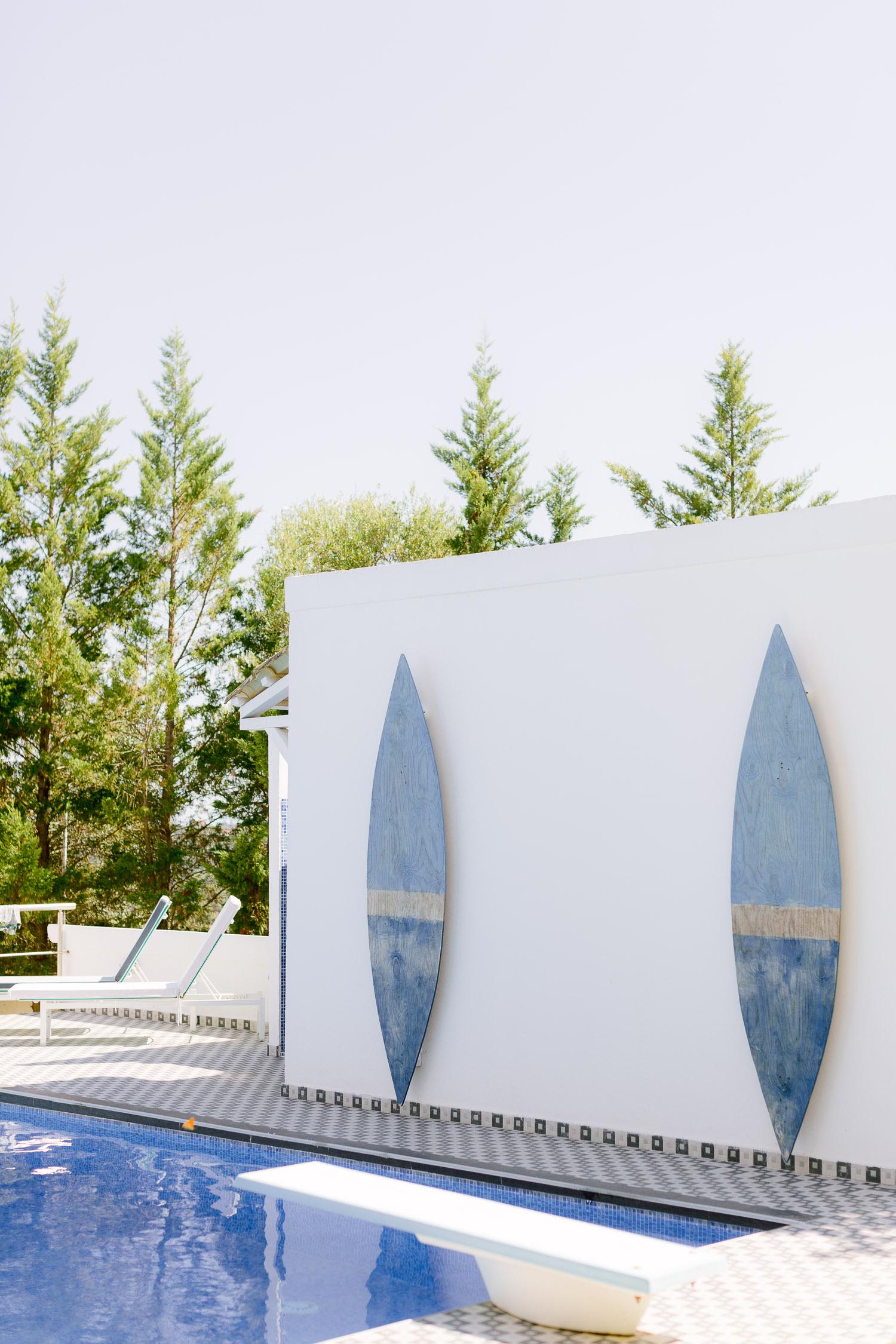 Corfu villa poolside